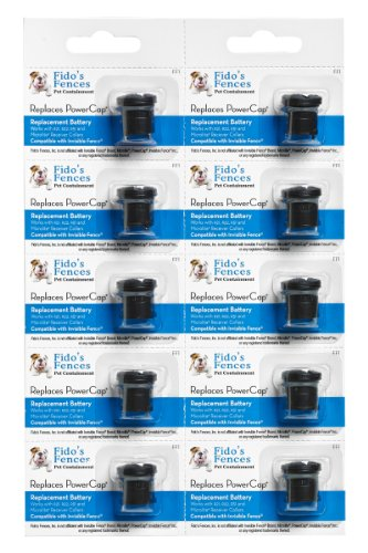 Invisible Fence Compatible batteries (10 Pack) by Fido's