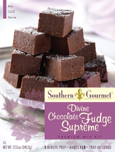 Southern Gourmet Divine Mix, Chocolate Fudge Supreme, 12 Ounce