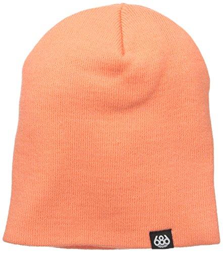 686 Basic Knit Beanie Logo | 100% Acrylic | One Size -Coral