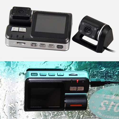 Vehicle 720p (HD 720P Dual Lens Dashboard Car vehicle Camera Video Recorder DVR CAM G-sensor. My KN (HD 720P Dual Lens Dashboard Car vehicle Camera Video Recorder DVR CAM G-sensor))