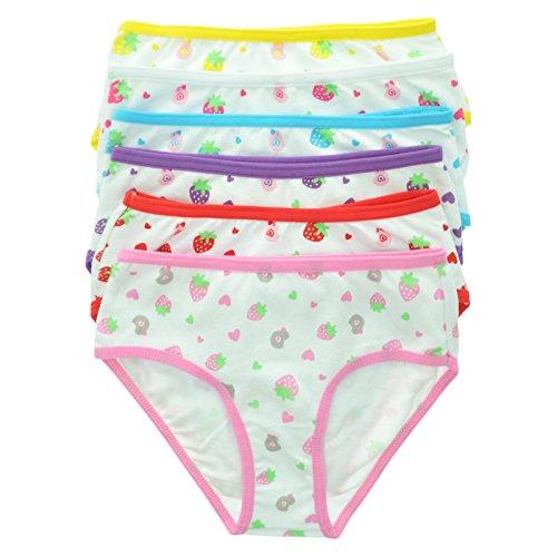 Maria Rosa 6-Pack Girls Cotton Spandex Bikini #6024_L