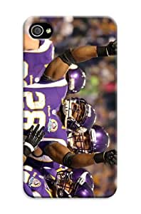 iphone 4s Protective Case,Beautiful Football iphone 4s Case/Minnesota Vikings Designed iphone 4s Hard Case/Nfl Hard Case Cover Skin for iphone 4s