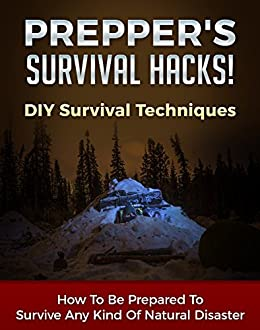 Prepper's Survival Hacks! DIY Survival Techniques: How To Be Prepared To Survive Any Kind Of Natural Disaster (DIY Survival Hacks Book 1)