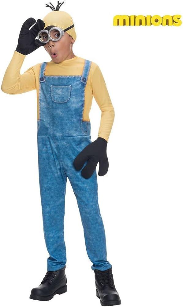 Disfraz Child Minion Kevin Costume: Amazon.es: Juguetes y juegos