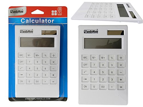 Calculator, 12 Digits Size: 4.25'' x 7.25'' , Case of 96