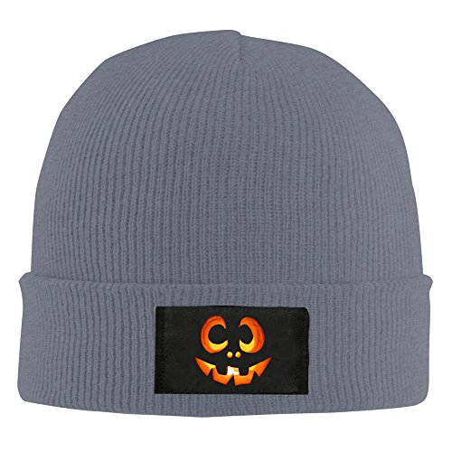 Mens And Womens Halloween Carved Pumpkin Skull Knit