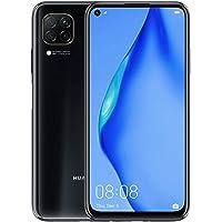 "Huawei P40 lite - Smartphone 6.4"", 48 MP con IA Ultra angular, 6GB RAM + 128GB ROM, Desbloqueado, Color Negro Profundo (no cuenta con sistema Google)"