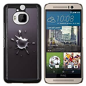 "Be-Star Único Patrón Plástico Duro Fundas Cover Cubre Hard Case Cover Para HTC One M9+ / M9 Plus (Not M9) ( Abstract Splash"" )"