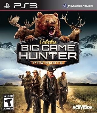 Cabelas: Big Game Hunter Pro Hunts - PlayStation 3 by Activision: Amazon.es: Videojuegos