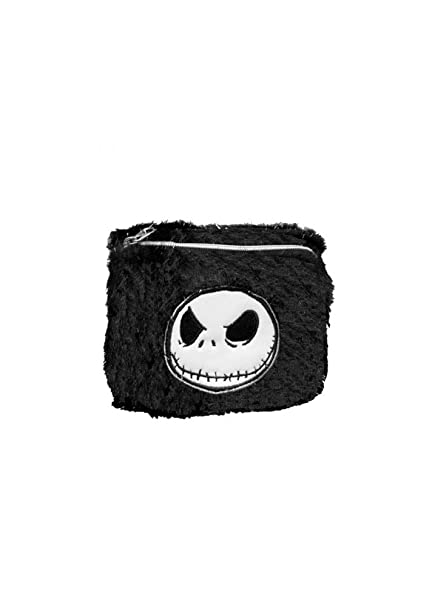 Nightmare Before Christmas Jack Skellington Faux Fur Wallet One Size