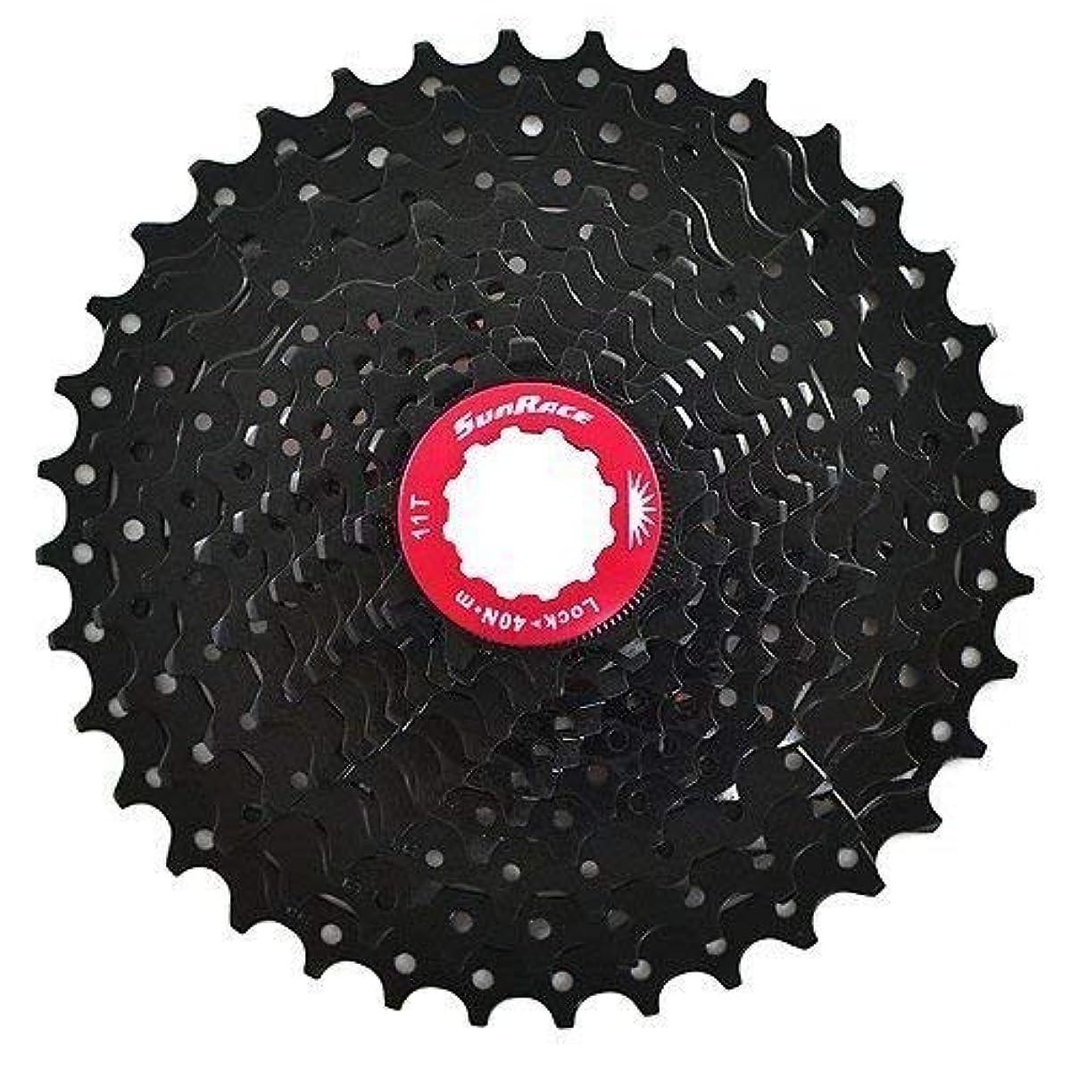 [해외] SUNRACE CSRX1 11 SPEED ROAD BIKE CASSETTE 11-36T, BLACK #ST1567