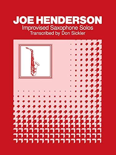 Improvised Saxophone Solos: Tenor Saxophone