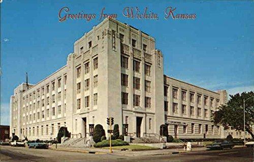 Federal Court House and Post Office Bldg. Wichita, Kansas Original Vintage Postcard