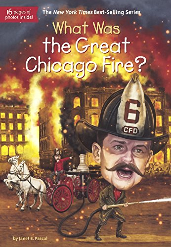 (What Was The Great Chicago Fire? (Turtleback School & Library Binding)