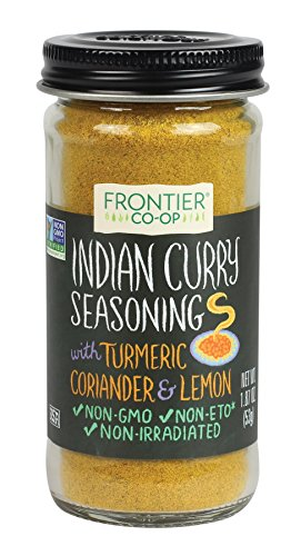 Curry Seasoning (Frontier Seasoning Blends Indian Curry, 1.87-Ounce Bottle)