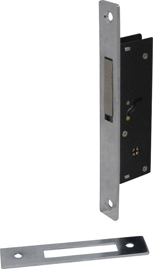 Cerradura Puerta Aluminio de ponerse 20 mm Caja 36,2 x 104 ...