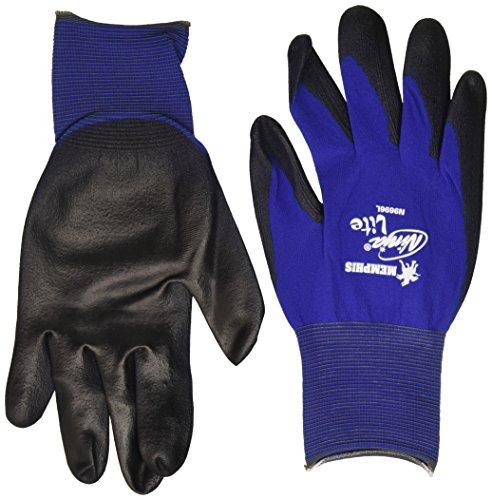 Memphis Glove 127-N9696L Ninja Lite 18 gal Nylon Liner Glove, Large, Multicolor (Pack of 12)]()