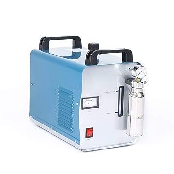 Hukoer - Generador de llama portátil de oxígeno y hidrógeno, 75 l/h, pulidora de acrílico: Amazon.es: Bricolaje y herramientas