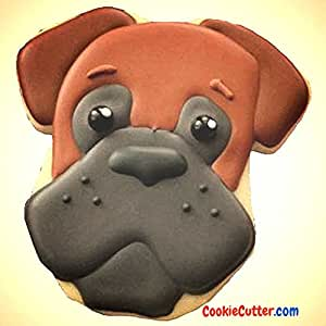 """Brown Boxer Plastic Cookie Cutter 3.5"""" Cc107"""