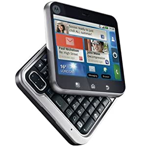Motorola Flipout MB511 Unlocked GSM Phone with 3G, Quad-Band, Android 2.1, QWERTY Keyboard, 3.1MP Camera, Bluetooth and Wi-Fi - Saffron/Orange