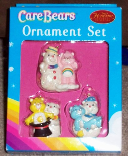Care Bears Ornament Set of 3 Care Bears