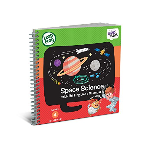 First Learning System Leappad - LeapFrog LeapStart 1st Grade Activity Book: Space Science and Thinking Like a Scientist (Requires LeapStart System)
