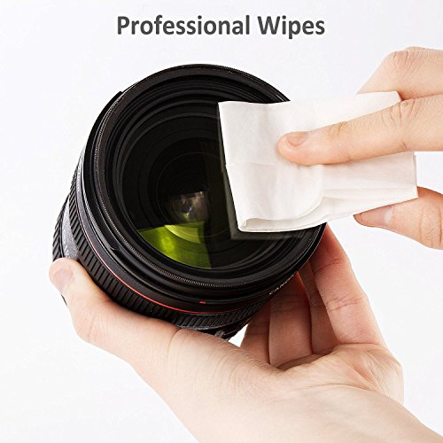 Lens Cleaning Wipes, 220 Pcs Portable Individually Wrapped Disposable Light Fragrance Non Irritating Pre-Moistened Lens Cleaner Wipes for Eyeglasses, Laptop and Camera by EasyLife AMZ by EasyLife AMZ (Image #2)