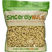 Whole Raw Cashews, 3 Pound - Sincerely Nuts