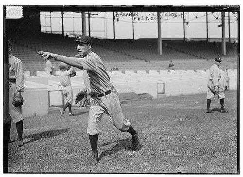 HistoricalFindings Photo: Ad Brennan,Philadelphia,NL (baseball),Addison Foster Brennan,1887-1962,Pitcher ()