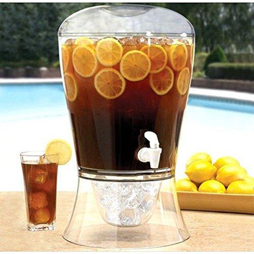 Gran suave de hielo zumo de dispensador de bebidas Bebidas Cóctel Punch cerveza parte 10 pinta/alimentos comer muebles dispositivo Stuff equipo de ...
