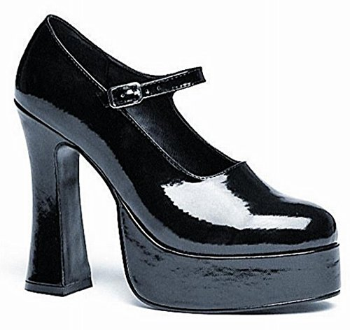 Ellie Shoes Womens Sexy Eden Mary Jane (Black) Adult Shoes Polyester 10 US (Eden Jane Mary Sexy)