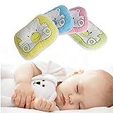 Newborn Infant Bedding Print Bear Oval Shape Cotton Blend Baby Bear Pillow