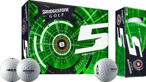Bridgestone E5 Golf Balls - Bridgestone 3 Dozen 2016 e5 White Golf Balls