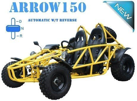 ALL NEW FEATURES!! High Power Adult/Youth 150cc Gokart PR...
