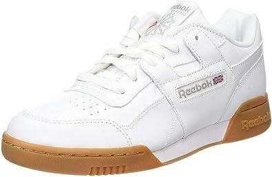depositar Mil millones bar  Reebok Workout Plus, Zapatillas de Gimnasia para Hombre, Blanco  (White/Carbon/Classic Red Royal/Gum White/Carbon/Classic Red Royal/Gum), 36  2/3 EU: Amazon.es: Zapatos y complementos