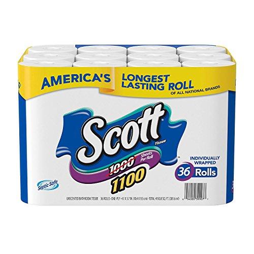 Scott Bath Tissue, 36 Count
