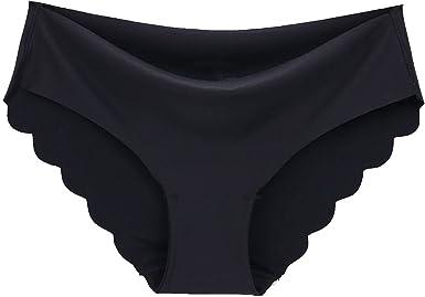 Bragas Sin Costuras Para Mujer Bragas Ultrafinas Sólidas Ropa Interior