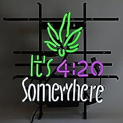 Neonetics It's 420 Somewhere Neon Sign