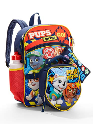 Paw Patrol Backpack and Lunch Box - Paw Patrol School Supplies For Boys And Girls