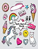 Kids Sketch Book: Childrens Extra Large Blank Notebook Journal For Doodling Drawing Sketching Scribbling Writing and More (Kids Sketchbook Collections)