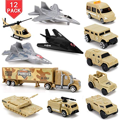 Liberty Imports Set of 12 Special Forces Military Vehicles for sale  Delivered anywhere in USA