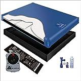 70% WAVELESS WATERBED Mattress/Liner/Heater/Fill Drain/Conditioner KIT (California King 72x84 1G5G1)
