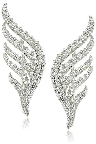 xpy-sterling-silver-created-white-sapphire-winged-climber-ear-cuffs