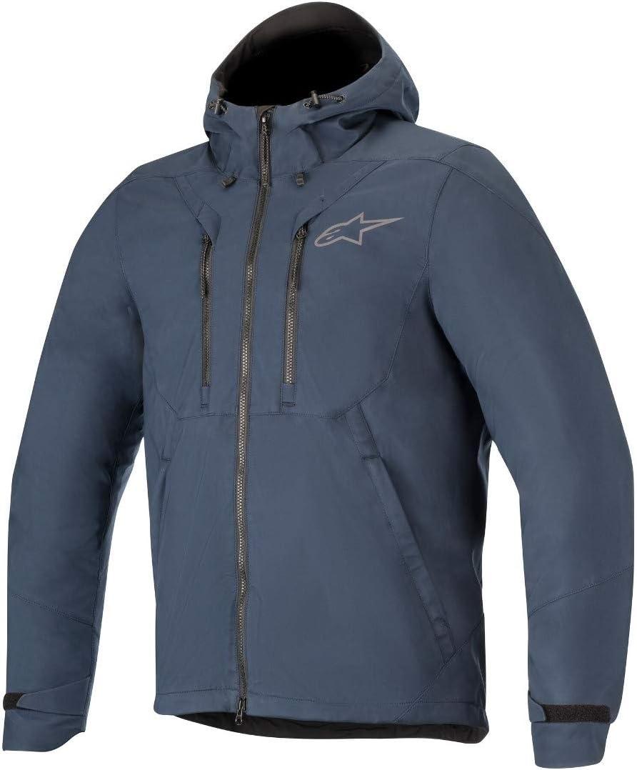 Alpinestars Men's Domino TECH Casual 3X-Large San Francisco Mall Ranking TOP1 Navy Hoodie