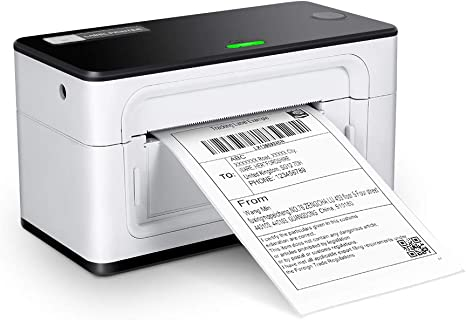 MUNBYN Label Printer, High Speed Direct USB Thermal Barcode 4×6 Shipping Label Printer Marker Writer Machine, One Click Set up,Compatible with ...