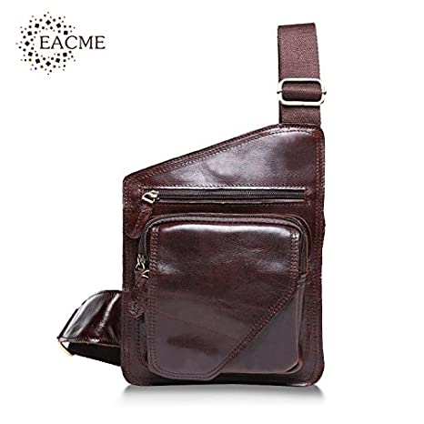 e5f38a291b Buy Genric pale brown   Vintage Men s Crossbody Bag Men Messenger Bags Brand  Crazy Horse Leather Bag for Men Fashion Travel Portable Durable 2016 NEW  Online ...