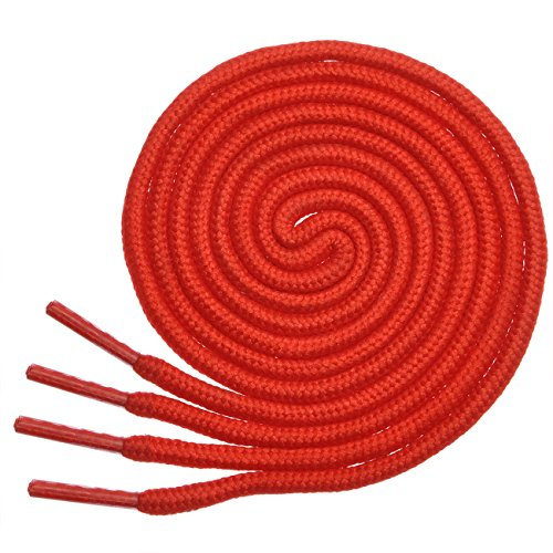 Top shoe laces red round for 2020
