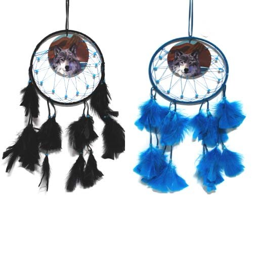 Dream Catcher W. Design Asst Colors, Case of 24 by DollarItemDirect