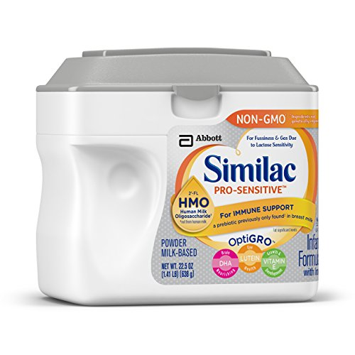 Similac Pro-Sensitive Infant Formula with 2'-FL Human Milk Oligosaccharide (HMO) for Immune Support, 22.5 ounces (Single Tub)