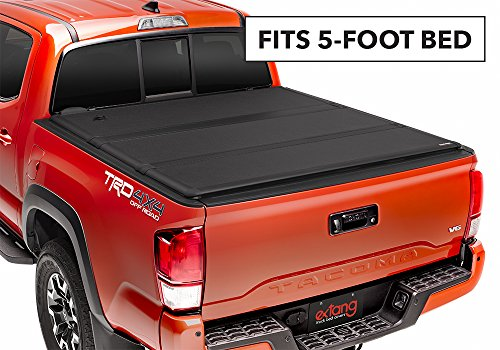 Extang 62831 Encore Hard Folding Tonneau Cover - fits 2017-18 Tacoma 5' - TRD and Limited Models (Extang Encore Tonneau Cover)